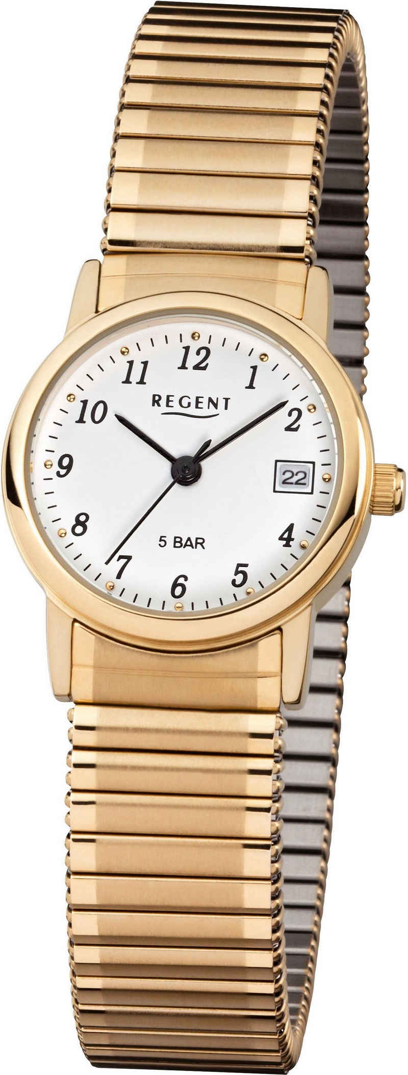 Regent Quarzuhr »7610.45.99, F890«, mit Zugband