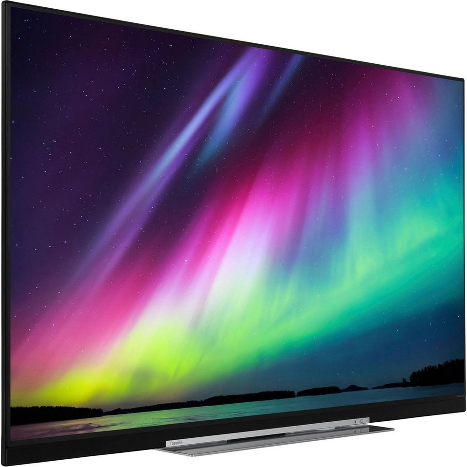 toshiba 55u7863da led fernseher 140 cm 55 zoll 4k ultra. Black Bedroom Furniture Sets. Home Design Ideas