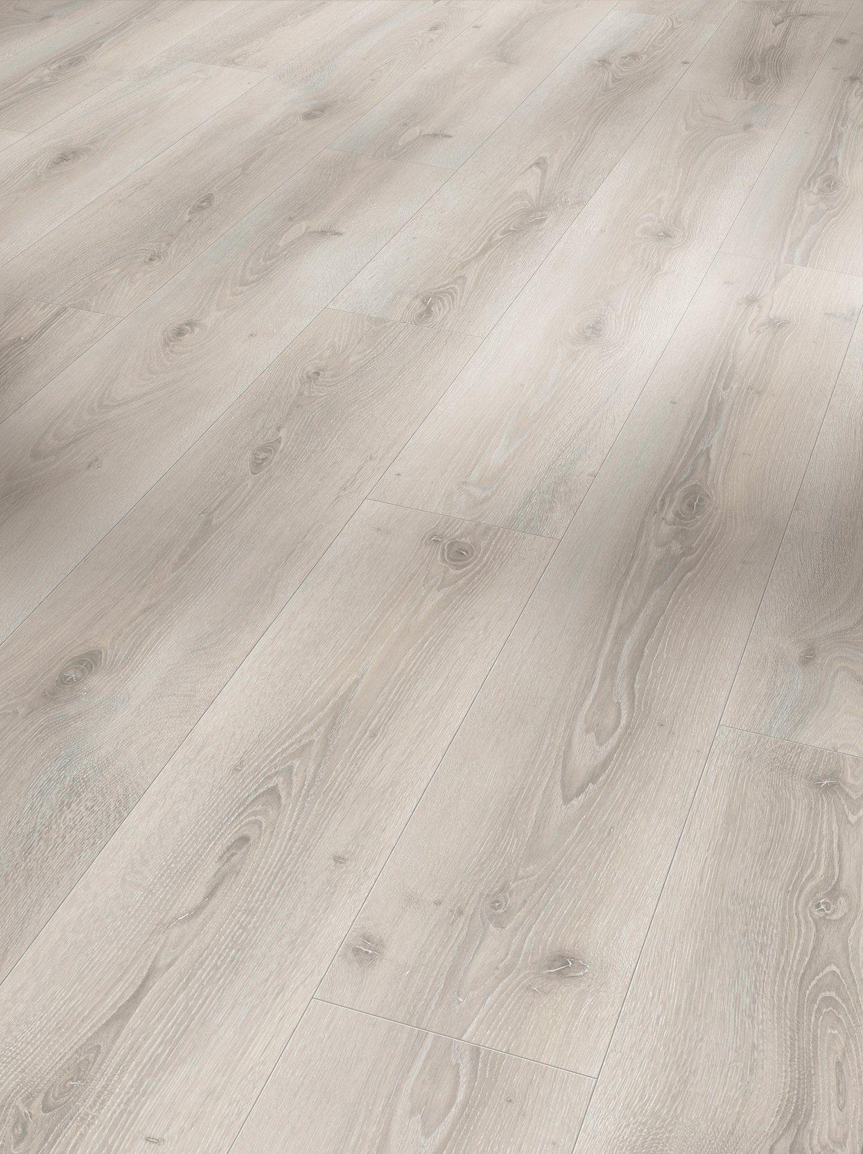 PARADOR Packung: Designboden »Eco Balance PUR«, Eiche Askada weiß gekälk, 191x1285x9 mm, 2,209 m²