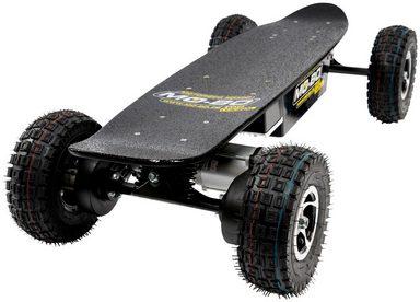 MO-BO Elektroskateboard »Black Line«, 1600 W, 30 km/h, Heckmotor, 22 Ah