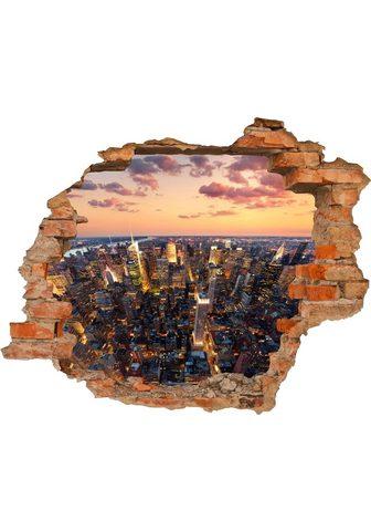 CONNI OBERKIRCHER´S 3D-Wandtattoo »New York« selbstklebend...