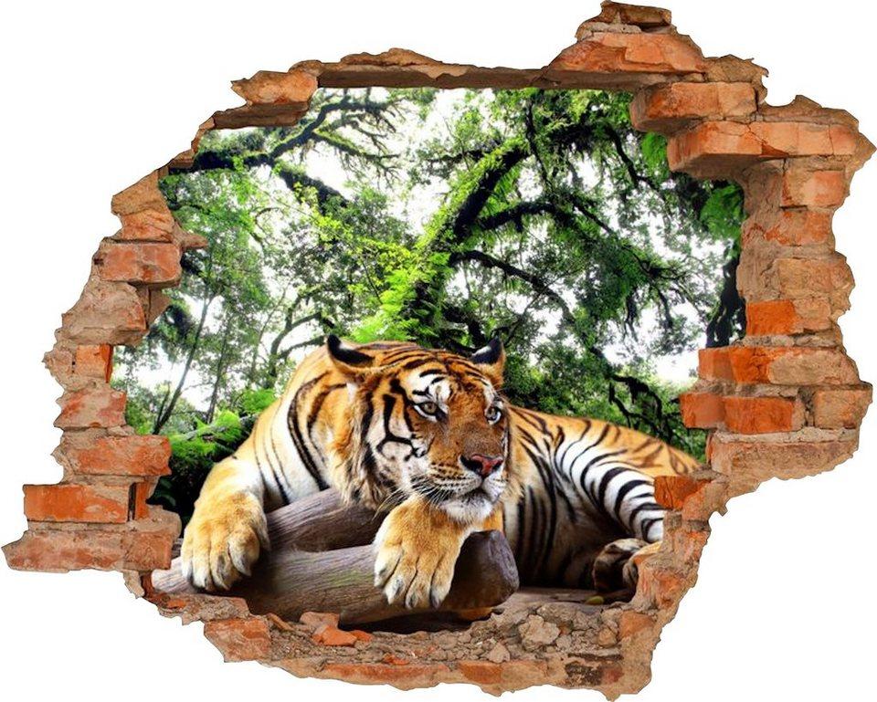 3D Wandtattoo Tiger selbstklebend online kaufen