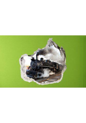CONNI OBERKIRCHER´S 3D-Wandtattoo »Train« selbstklebend