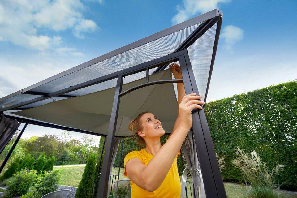 konifera sonnensegel bxl 300x400 cm f r pavillon barbados. Black Bedroom Furniture Sets. Home Design Ideas