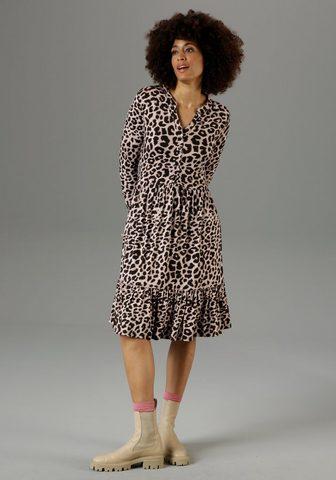 Aniston CASUAL Suknelė su Animal-Print - NEUE KOLLEKT...