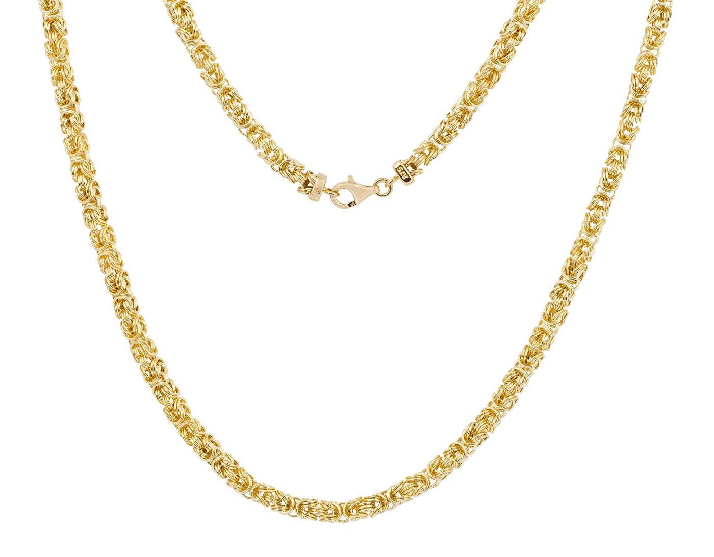 Firetti Königskette »Gelbgold« | Schmuck > Halsketten > Königsketten | Goldfarben | Firetti