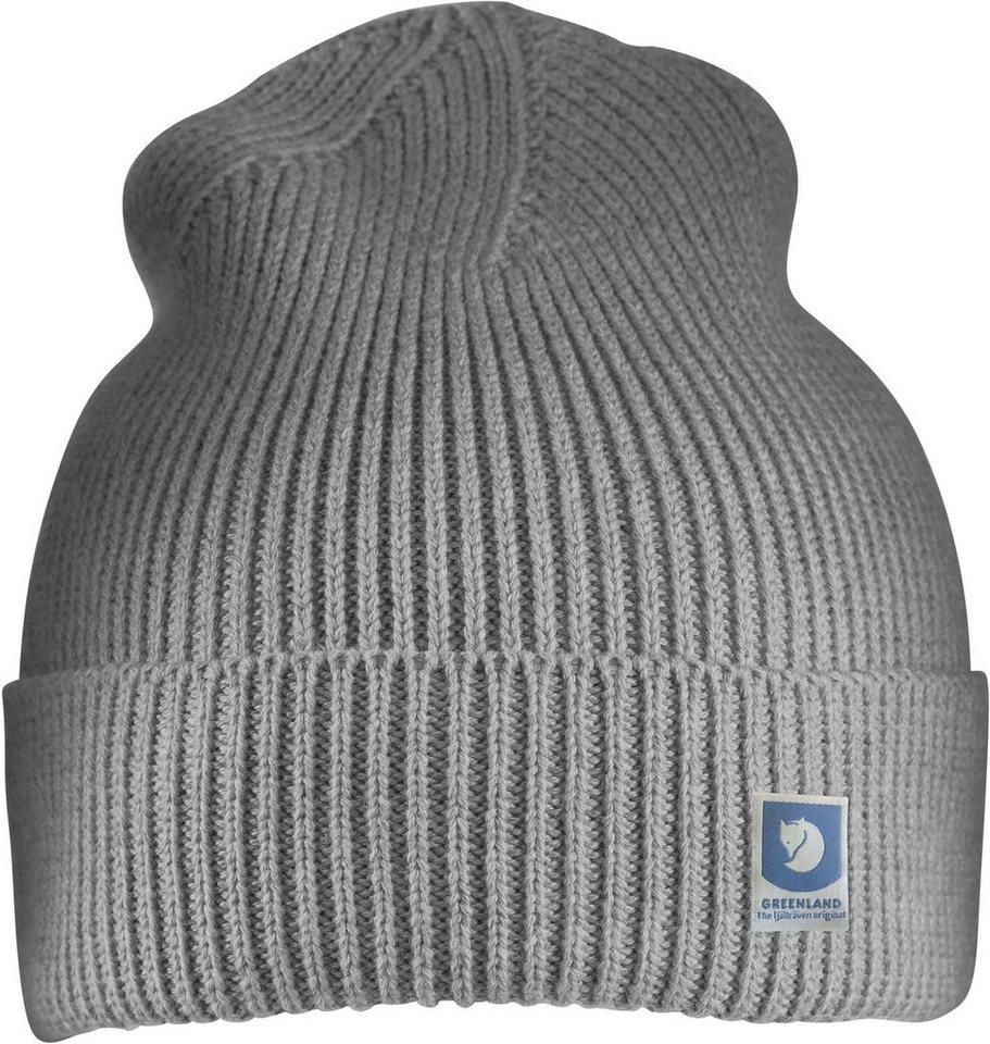 Fjällräven Hut »Greenland Cotton Beanie« | Accessoires > Hüte > Sonstige Hüte | Grau | Baumwolle | Fjällräven