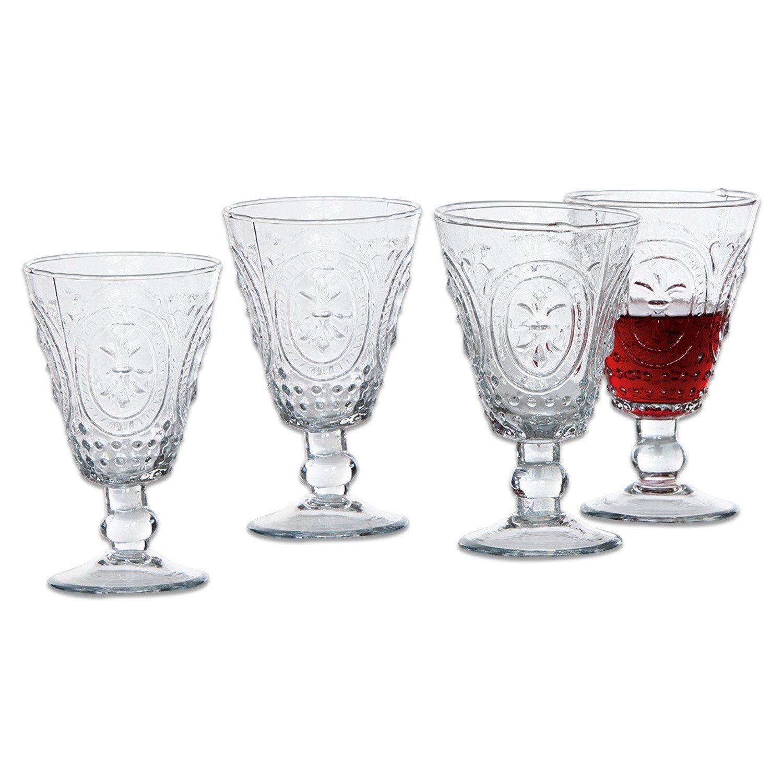 Loberon Weingläser 4er Packung »Sarton«