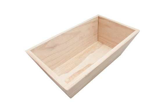 HTI-Line Holzkästchen »Linnea ohne Griff«