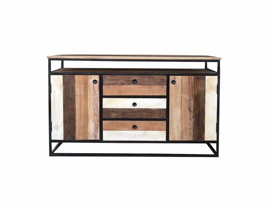 kawola sideboard mit schubladen mangoholz dare otto. Black Bedroom Furniture Sets. Home Design Ideas