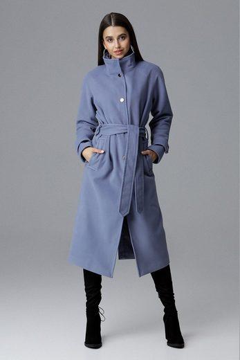 FIGL Mantel mit Bindegürtel