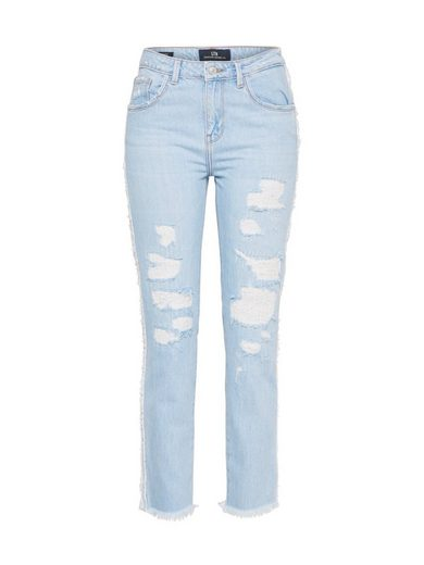 »merry« Fransensaum Hellblau Loose jeans fit Ltb wOTZukXPi