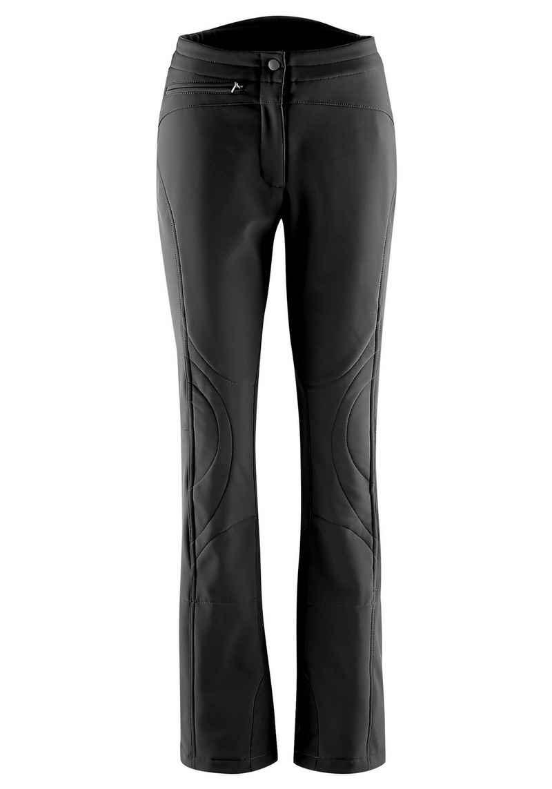 Maier Sports Skihose »Marie« Slim fit, Softshell, elastisch, winddicht