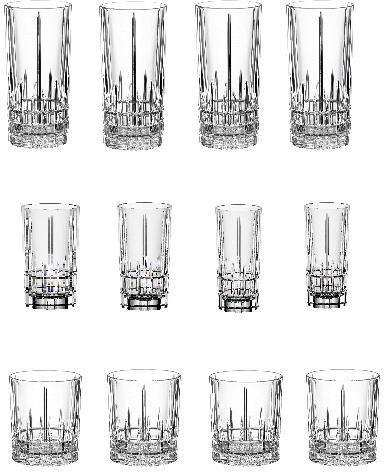 SPIEGELAU Gläser-Set »Perfect Serve Collection« (12-tlg), Kristallglas