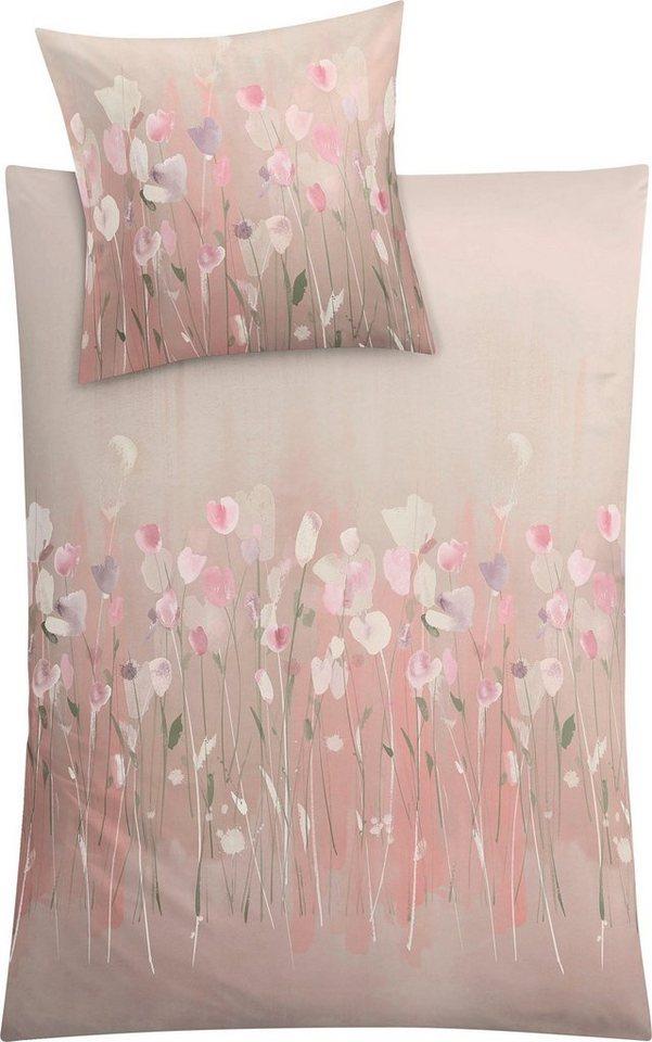 Bettwasche Fiorello Kleine Wolke Mit Blumen Otto