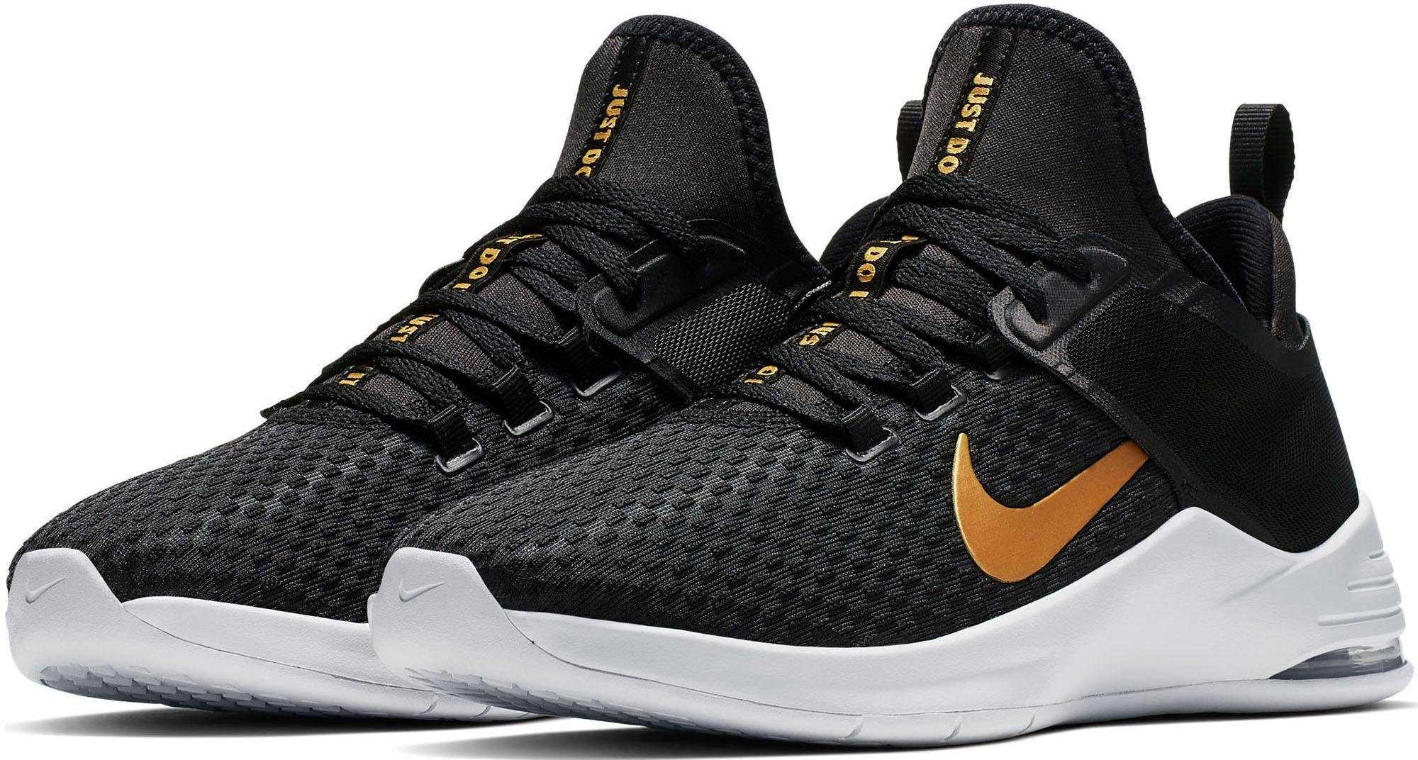 NIKE Sneaker WMNS AIR MAX BELLA TR2 black met.gold 79,95 €