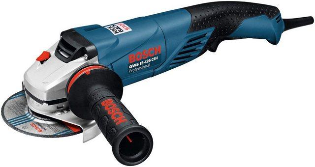 Bosch Professional Winkelschleifer »GWS 15-125 CIH« | Baumarkt > Werkzeug > Fräsen und Schleifer | Bosch Professional