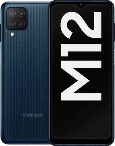 Samsung Galaxy-M12 - 64GB Smartphone (16,55 cm/6,5 Zoll, 64 GB Speicherplatz, 48 MP Kamera)