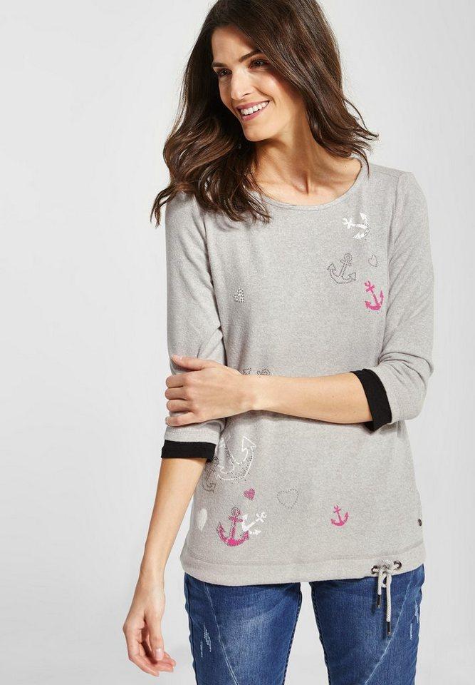 66422070ae10fb Cecil 3/4-Arm-Shirt mit Elastiksaum online kaufen | OTTO