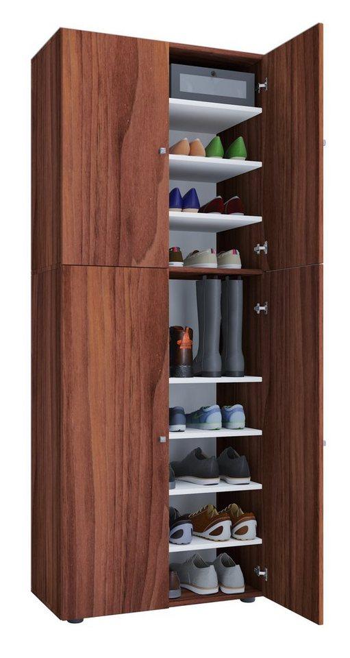 vcm xxl schuhschrank mit t ren lona 9 fach otto. Black Bedroom Furniture Sets. Home Design Ideas