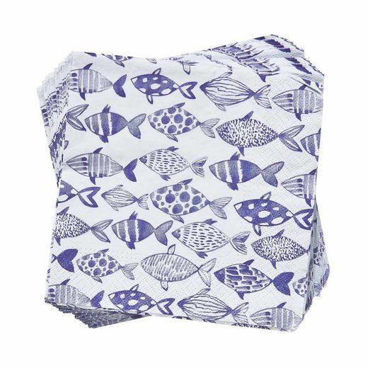 BUTLERS APRÈS »Papierserviette Fische«