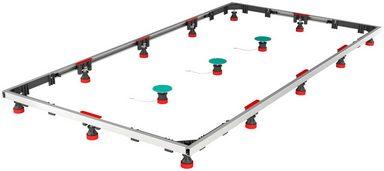 Komplett-Set: Montagesatz »SF Rechteck XL 100/160 Universal«, für Stahlwannen