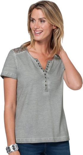 Ambria Shirt in »oil dyed«-Färbung