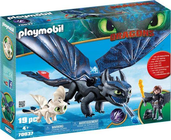 Playmobil® Konstruktions-Spielset »Ohnezahn und Hicks Spielset (70037), Dragons«, Made in Germany