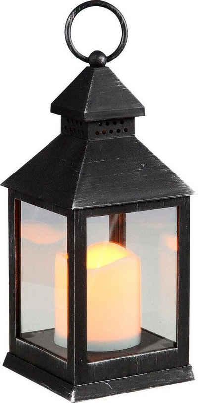 Home affaire Laterne, inkl. LED Kerze, Höhe 24 cm