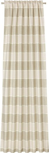 Vorhang »Alisee«, DEKO TRENDS, verdeckte Schlaufen (1 Stück), Schal mit verdeckten Schlaufen
