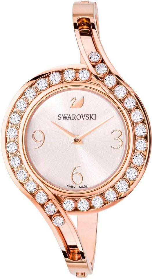 Damen Swarovski Schweizer Uhr »LOVELY CRYSTALS, 5452489«, (1-tlg)  | 09009654524895