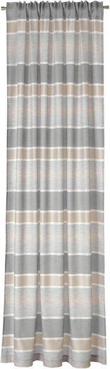 Vorhang »Tempa«, DEKO TRENDS, verdeckte Schlaufen (1 Stück), Schal mit verdeckten Schlaufen