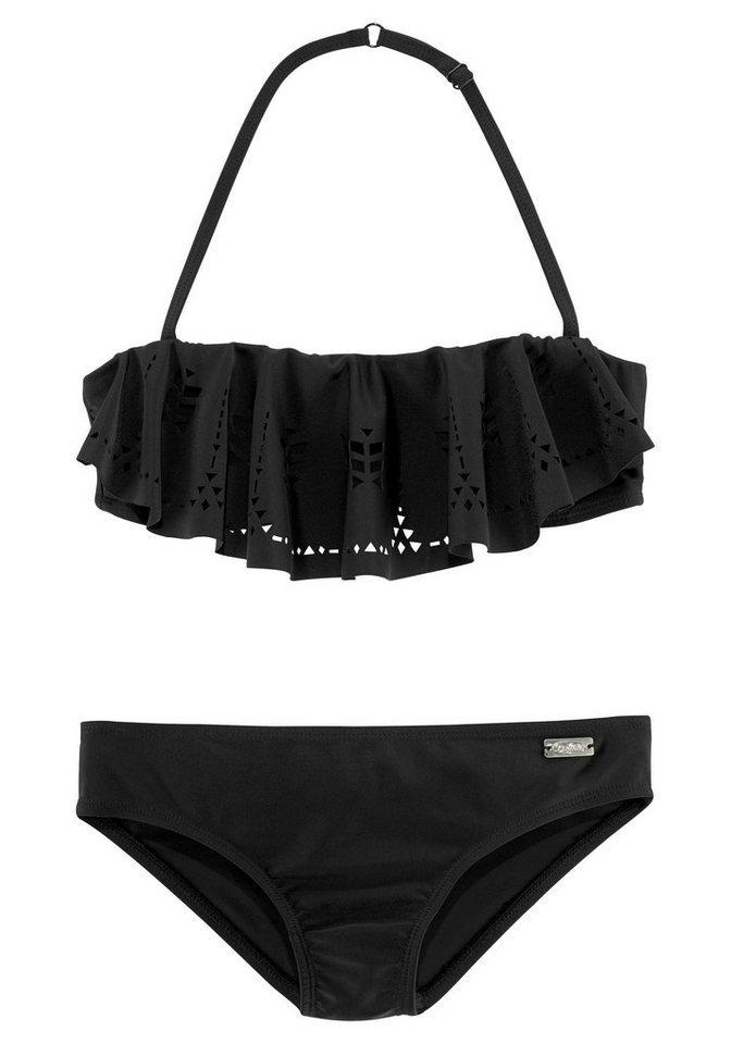 moderate Kosten Online-Verkauf hohes Ansehen Buffalo Bandeau-Bikini mit modischem Volant kaufen | OTTO
