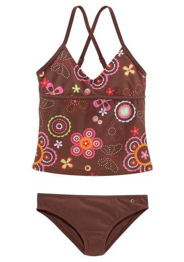 s.Oliver Beachwear Tankini im verspielten Floraldesign