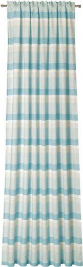 Vorhang »Riviera«, DEKO TRENDS, verdeckte Schlaufen (1 Stück), Schal mit verdeckten Schlaufen