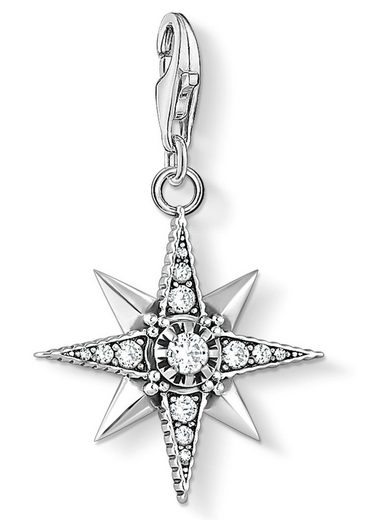 THOMAS SABO Charm Stern »Royalty Stern, 1756-643-14«, mit Zirkonia
