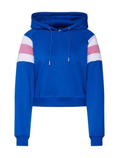 URBAN CLASSICS Sweatshirt »Ladies Sleeve Stripe Hoody«