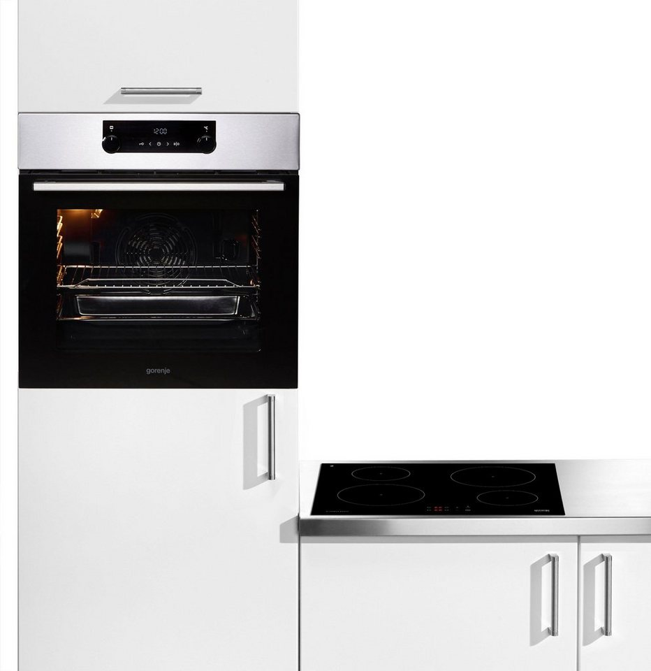 GORENJE Backofen Set Pacific Backofen Set Basic Induktion, Mit 1 Fach