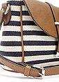 LASCANA Umhängetasche, Minibag mit Streifen, Bild 6