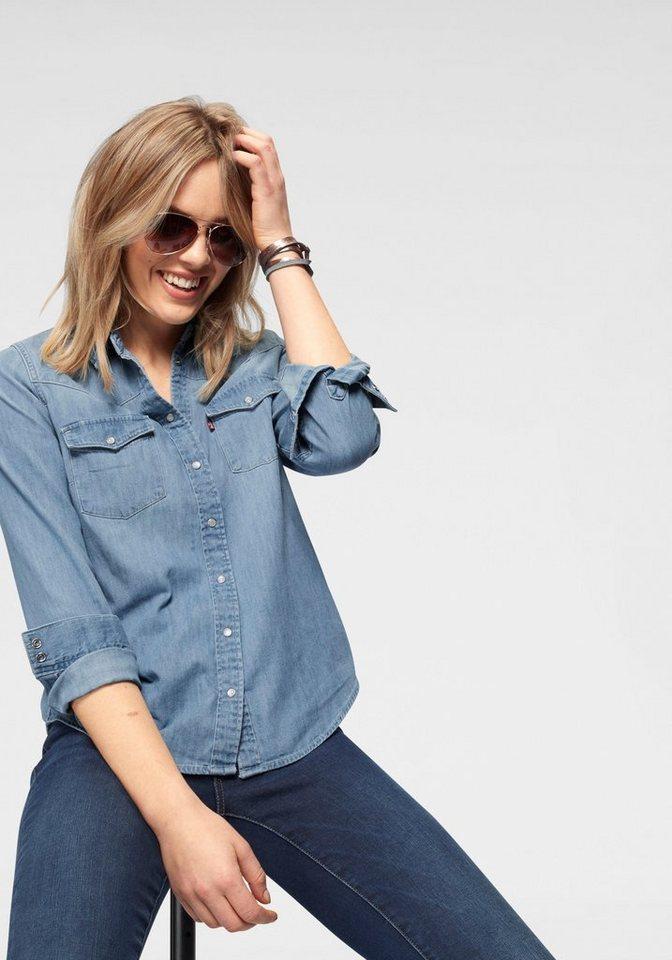 levi´s® -  Jeansbluse »Modern Western« Klassische Hemdenform