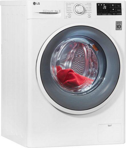 LG Waschtrockner F14WD84EN0, 8 kg/4 kg, 1400 U/Min