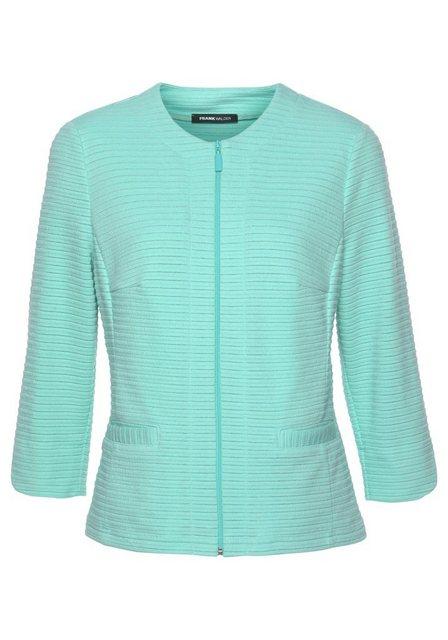 FRANK WALDER Jackenblazer aus leichter Ware mit Glitzerfaden | Bekleidung > Blazer > Jackenblazer | FRANK WALDER