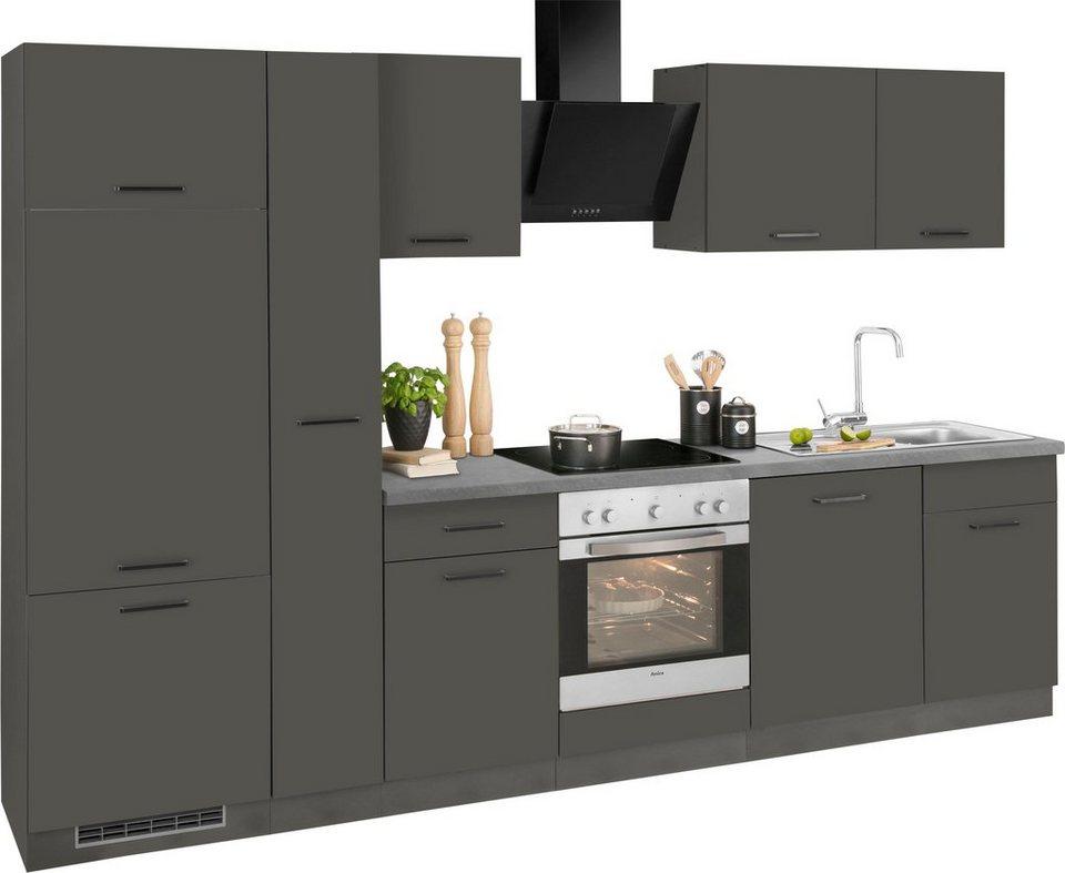 wiho k chen k chenzeile esbo mit e ger ten breite 310. Black Bedroom Furniture Sets. Home Design Ideas