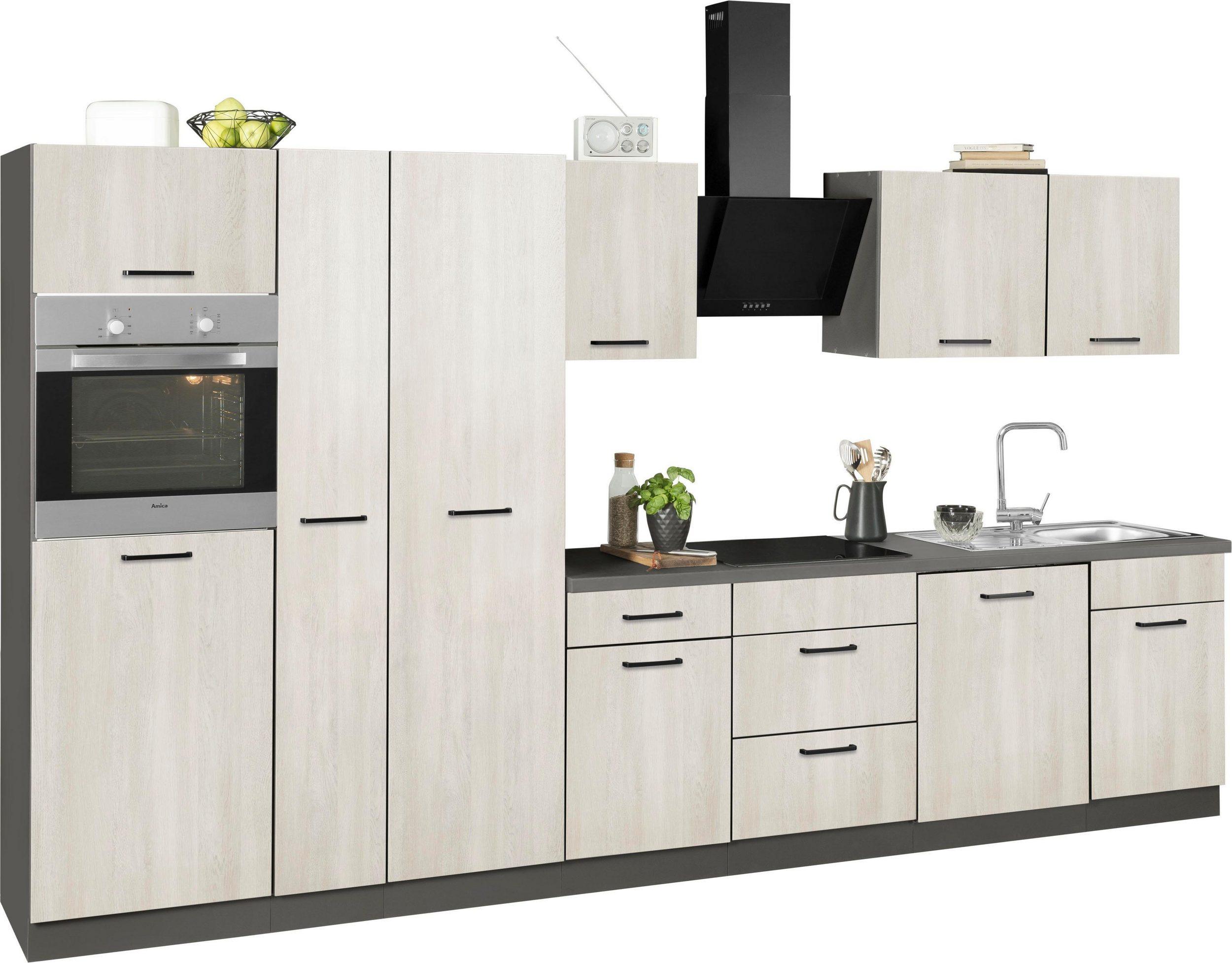 wiho Küchen Küchenzeile ESBO mit E-Geräten - wiho Küchen