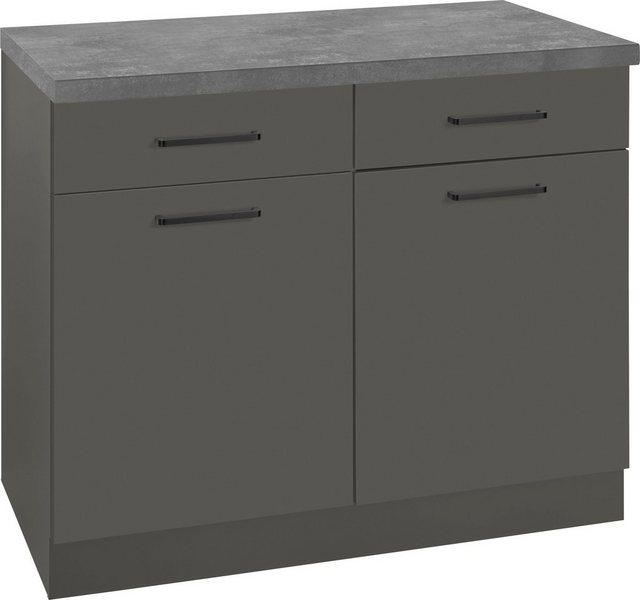 Küchenschränke - wiho Küchen Unterschrank »Esbo« 100 cm breit  - Onlineshop OTTO