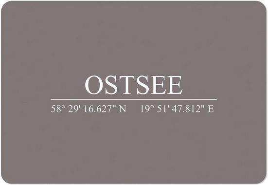 Platzset, »PS0005«, queence, (Set, 4-St)