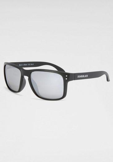 BACK IN BLACK Eyewear Sonnenbrille mit verspiegelten Gläsern