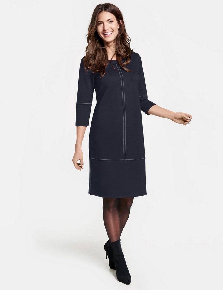 GERRY WEBER Kleid Gewirke »Kleid mit Kontrastnähten« online kaufen ... 8370cce1e7
