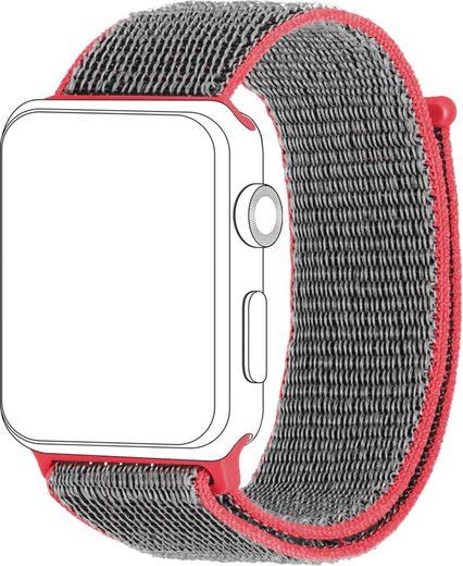 topp Accessoires Ersatz-/Wechselarmband »Nylon Loop für Apple Watch (38/40 mm)«
