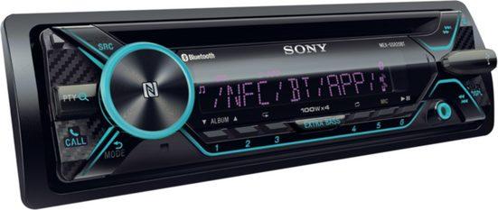 Sony Autoradio »1-DIN Autoradio, BT, 4 x 100 Watt«